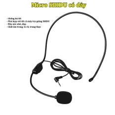 Micro SHIDU có dây dùng cho mọi máy trợ giảng SHIDU