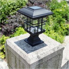 Đèn năng lượng mặt trời đèn trang trí trụ cổng sân vườn cầu thang