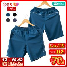 Quần Short Nam 5S (4 Màu) Vải Gió Mềm, Siêu Nhẹ, Dáng Thể Thao, Thiết Kế Trẻ Trung Năng Động (QSG001S1)