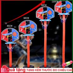 Bộ đồ chơi bóng rổ cho bé từ 3 tuổi phát triển chiều cao cho bé [Có thể điều chỉnh độ cao phù hợp]