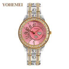 [Xả lỗ do dịch Corona] Đồng hồ nữ lắc tay đính đá YOHEMEI CH383