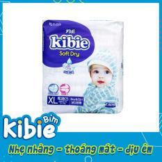 Bỉm dán Kibie Hàn Quốc, Bỉm dán size XL25 (13-18kg), Tã dán cho trẻ- HABDXL25
