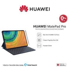 TRẢ GÓP 0% – Máy tính bảng Huawei MatePad Pro (6GB/128GB)-Kèm bút cảm ứng Huawei M-Pencil + bàn phím Huawei Smart Magnetic-Chip Kirin 990-Hiệu ứng âm thanh Histen 6.0-Màn hình Huawei FullView 10.8 Inch-Dung lượng pin lớn 7,250 mAh