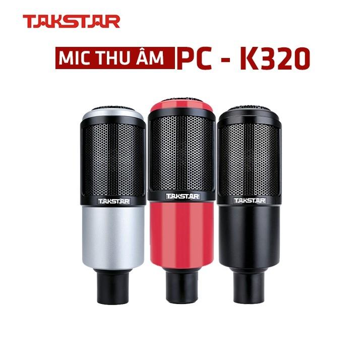 Mic thu âm Takstar PC-K320 hát karaoke thu âm livestream bảo hành 12 tháng, Mic karaoke, livestream,. micro thu âm...