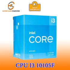 [Trả góp 0%]CPU Intel Core i3 10105F 3.70GHz 4 Nhân 8 Luồng 6MB Cache chính hãng Viễn Sơn Phân Phối