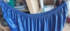 Túi trùm vệ sinh máy lạnh treo tường – Áo bọc hứng nước rửa điều hòa – Xanh Bích