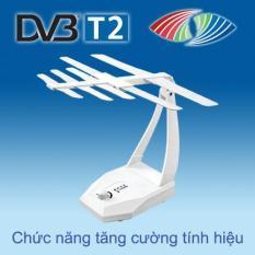 Anten (Ăng ten) thu truyền hình số mặt đất DVB-T2 có khuếch đại tín hiệu HKD TB105-KD của Hoành Kiến Đạt