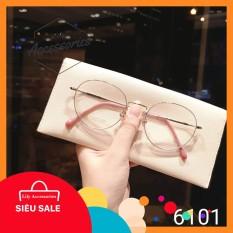 Gọng kính cận thời trang Gọng cận mắt tròn lily 6101