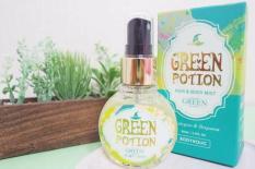 Xịt Thơm Toàn Thân Và Tóc Body Holic – Green Potion