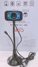 Webcam chân cao có micro – đèn led thích hợp học online – BẢO HÀNH 3 THÁNG