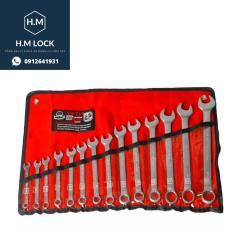 Bộ cờ lê vòng miệng 14 chi tiết 8-24mm – HM Lock