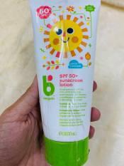 Kem chống nắng hữu cơ Babygarnics cho bé từ 6 tháng tuổi trở lên