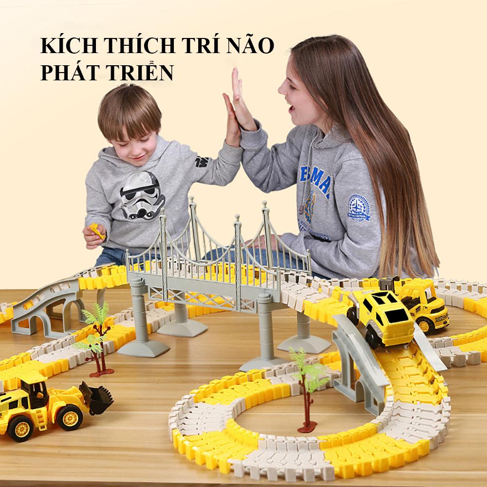 Báo giá Đồ chơi trẻ em, bộ đồ chơi đường ray xe chạy, tàu hỏa dễ dàng lắp  ráp, giá siêu rẻ, nhiều chi tiết... hấp dẫn kích thích trí thông minh