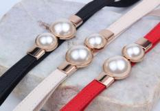 Thắt lưng thời trang nữ chất liệu thun co giãn (đen,đỏ,trắng)