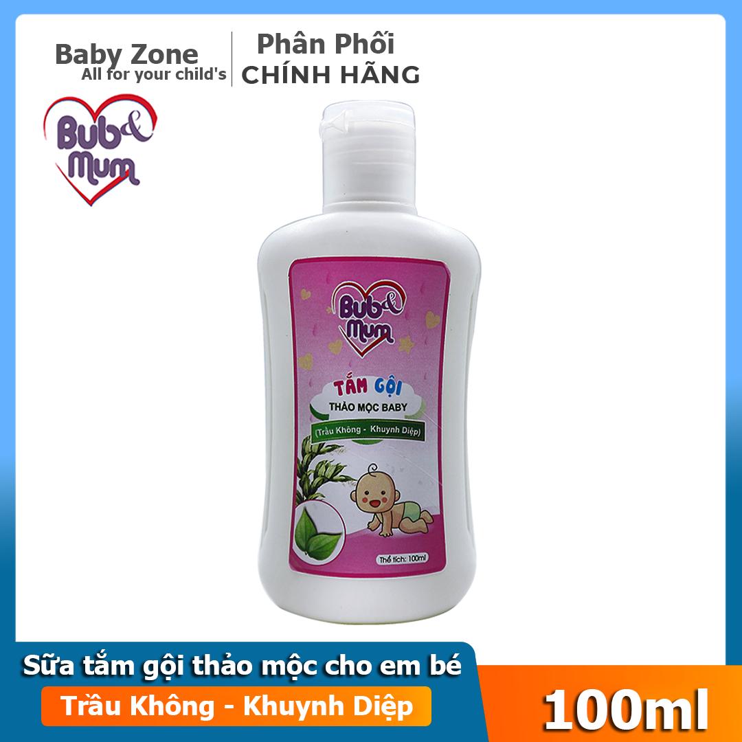 Sữa tắm dầu gội toàn thân , không cay mắt cho bé BuB&MuM