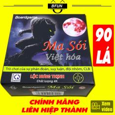 Bài Ma Sói – Bài Ma Sói Việt Hóa 90 LÁ – Bài Ma Sói Tiếng Việt Dòng CAO CẤP