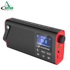 Loa Bluetooth mini kiêm đài FM, Đài FM kiêm loa mini bluetooth – AVANTREE SP850 – A2023 ( Bảo hành 2 năm 1 đổi 1 ) – Hỗ trợ jack cắm tai nghe, khe cắm thẻ nhớ, thời gian chơi nhạc 10h, thời gian dùng Radio lên đến 20h – An Tiến