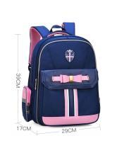Ba lô học sinh dành cho bé gái HLS019 – Màu xanh (29cm X 17cm X 39cm)