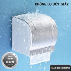 Hộp đựng giấy vệ sinh Inox Sus 304 cao cấp
