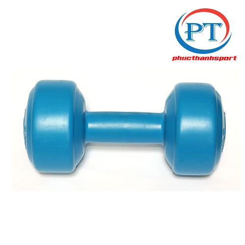 Bộ 2 tạ tay nhựa 3kg phucthanhsport (2 cục 3kg tổng 6kg)