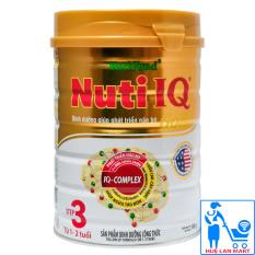 Sữa Bột Nutifood Nuti IQ Gold Step 3 – Hộp 900g (Cho trẻ từ 1~2 tuổi)