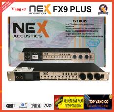 [ XẢ KHO ] Vang Cơ Nex Acoustics – FX9 Plus Chính Hãng 100%, Chuyên Hát Karaoke Cho Loa Soundbar Tivi, Chống Hú Cực Tốt, Màn Hình Led Nháy Nhạc, Cổng RCA-Optical-USB-Bluetooth, Nâng Cấp Vang Cơ Nex FX8, Vang Cơ Được Ưa Chuộm Nhât, BH 12 TH