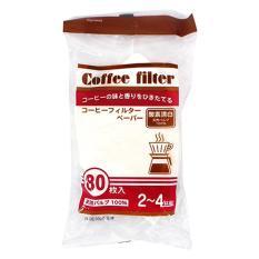 Set 80 túi giấy lọc cà phê size L (Hàng nội địa Nhật)