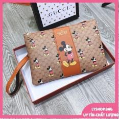 Túi Cầm Tay Nữ Clutch Mickey Siêu Đẹp – Ms038 -Lazado.Official