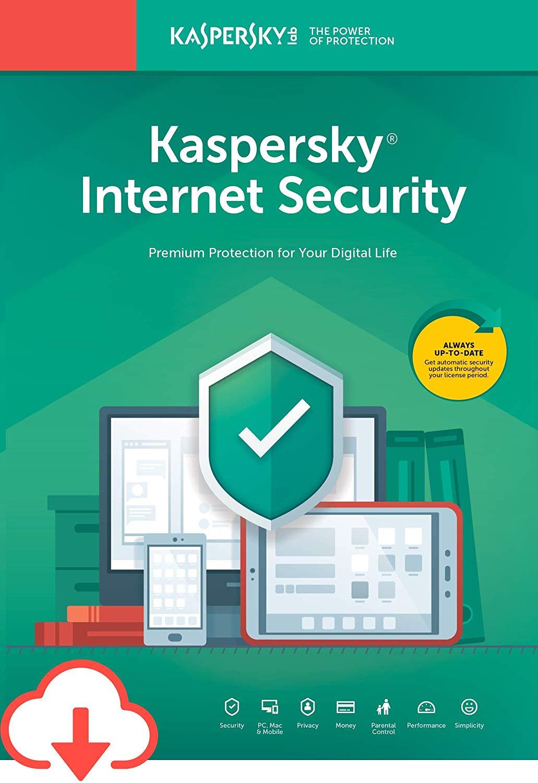 Phần mềm diệt virus Kaspersky Internet Security 1PC