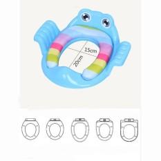[freeship-quà] Bệ thu nhỏ bồn cầu hình ếch ngộ nghĩnh cho bé yêu