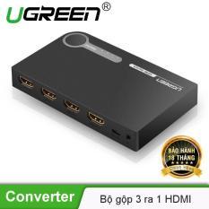 Bộ gộp HDMI 3 ra 1 UGREEN 40234 – Hãng phân phối chính thức