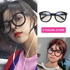 Kính cận thời trang xu hướng mới năm 2020, mắt kính không độ bảo vệ mắt chống tia UV, gọng kính có thể lắp được tròng cận và bền bỉ chịu va đập tốt – Kính giả cận 041