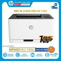 [HPNOV15 Giảm 15% tối đa 1 triệu 500 nghìn] [Trả góp 0%] Máy in màu HP Color Laser 150a,1Y WTY-4ZB94A – Hàng chính hãng