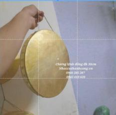 Thanh la đồng vàng đk 30, Lệnh đồng vàng 30cm