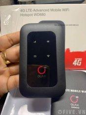 Cục Phát Wifi Olax WD680 Phát Mạng 4G Sóng Wifi Di Động Từ Sim 4G Điện Thoại- Tốc Độ Cực Mạnh Chuẩn 4G LTE Pin Khủng