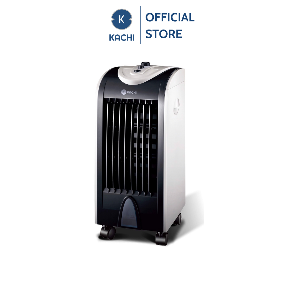 Quạt làm mát không khí Kachi mk202 75w – màu đen quạt hơi nước, mang đến bạn một làn gió mới, thổi bay đi cái nóng bức, ngột ngạt, làm mát và giữ ẩm không khí cho căn phòng
