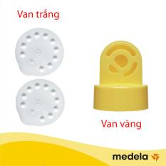 Combo 2 van trắng máy hút sữa Medela
