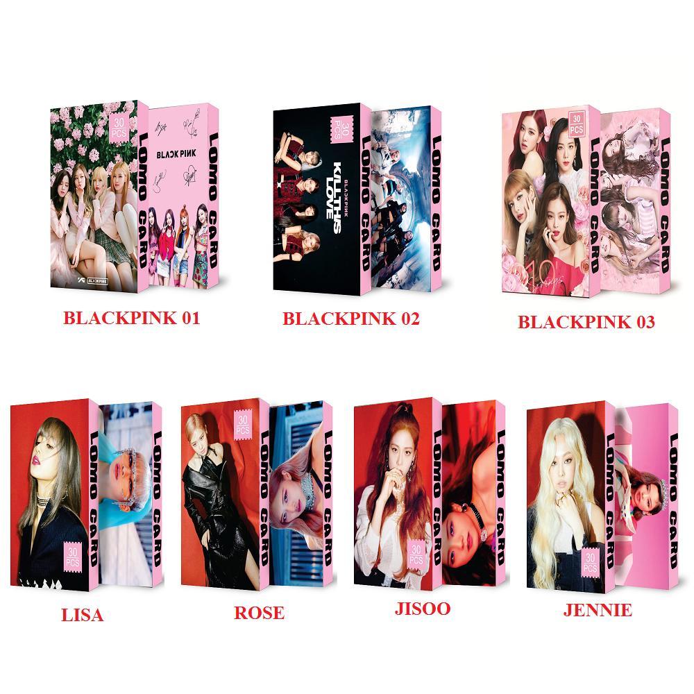 Lomo Card Kpop Blackpink Kèm Ảnh Thật Mẫu Mới
