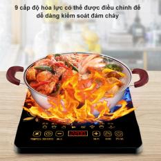 【like-】Bếp cảm ứng hình bán cầu, gia dụng, màn hình cảm ứng thông minh, không thấm nước, xào đa chức năng, tiết kiệm năng lượng,Bếp từ
