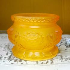 Lư hương thờ cúng bàn thờ lưu ly vàng-Nhiều cỡ