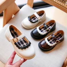 Giày Búp Bê Bé Gái ❤️ Giày Bé Gái Kiểu Dáng Vitage Từ 3-12 Tuổi Phong Cách Tiểu Thư Hàn Quốc GB06