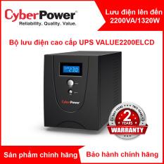 Bộ lưu điện UPS Cyber Power VALUE2200ELCD-AS – 2200VA/1320W
