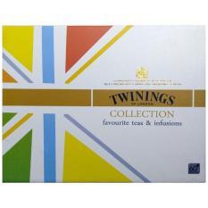 Bộ Sưu Tập Trà TWININGS OF LONDON hộp trắng 60 gói x 2 g