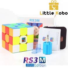 Rubik 3×3 RS3M 2020 MF3RS3 M Rubic Nam Châm 3 Tầng Stickerless MF3RS V3 M (Hãng Mod)