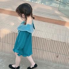 Váy đầm công chua tay bèo cao cấp bé gái từ 8- 18kg