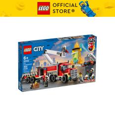 LEGO CITY 60282 Xe Đầu Kéo Chữa Cháy ( 380 Chi tiết)