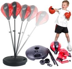 Bộ đồ chơi đấm bốc, tập cơ tay, phản xạ tại nhà cho bé