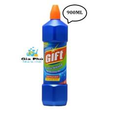 Nước tẩy TOILET sạch vi khuẩn GIFT 900ML GIA PHÚ