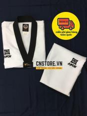 Quần Áo Võ – Võ Phục Taekwondo Cổ Đen Kwon Vải Kim Cương Cao Cấp