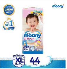 [MOONY] Bỉm Tã Dán Moony của Unicharm chính hãng size XL44
